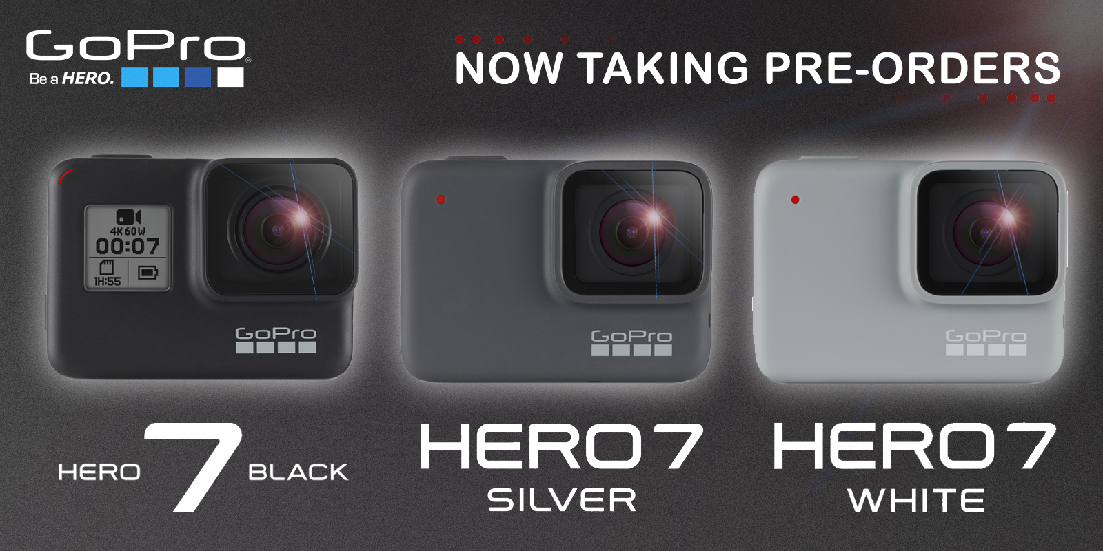 HERO 7 VARIANTS