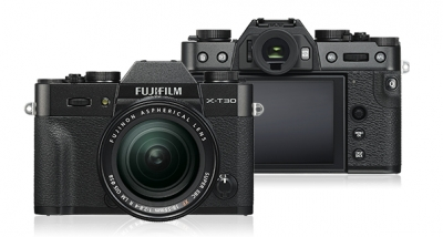 FUJIFILM X-T30 BLACK WITH 18-55MM LENS