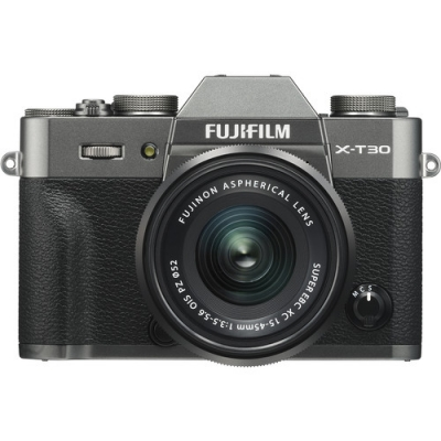 FUJIFILM X-T30 CHARCOAL WITH 15-45MM PZ LENS