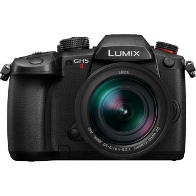 Panasonic Lumix GH5 II Mirrorless w/Leica 12-60mm f/2.8-4.0 Power OIS Lens