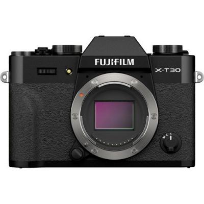 FUJIFILM X-T30 II Mirrorless Body Black