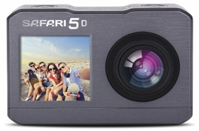 SAFARI 5 DUAL SCREEN 4K ACTION CAMERA