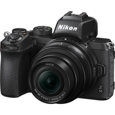 NIKON Z50 DX WITH 16-50MM VR LENS KIT